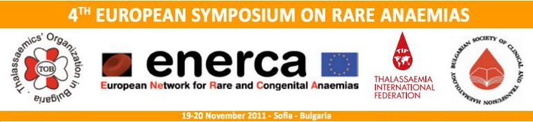 4th European Symposium on Rare Anaemias